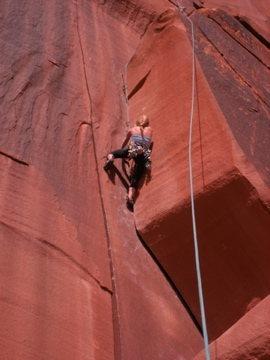 Rock Climbing Photo: Wavy Gravy