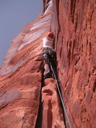 Rock Climbing Photo: c'est moi
