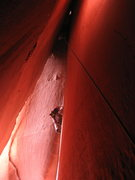 Rock Climbing Photo: The cave route