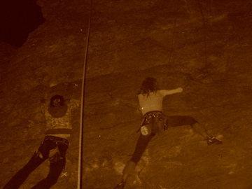 Rock Climbing Photo: Cecelia and myself