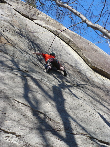 On a TR of Doug Reed Solo, Rumbling Bald, NC.