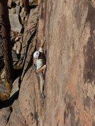 Rock Climbing Photo: Cruxing on Penetrators.