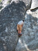 Rock Climbing Photo: Bouldering near Camp 4, I have no idea, if this is...