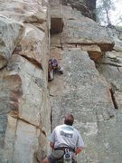 Rock Climbing Photo: Good 5.8