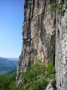 Rock Climbing Photo: Marshall's Madness on a beautiful day!