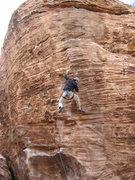 Rock Climbing Photo: Poppin' a little dyno action