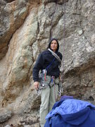 Rock Climbing Photo: A rare sight these days...jBak w/rak