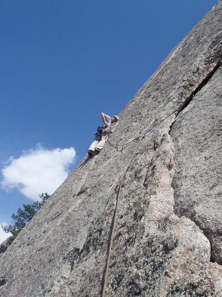 J Crack at Lumpy Ridge