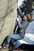 Rock Climbing Photo: Moose Tracks