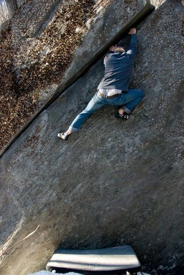 Rock Climbing Photo: Diagonal