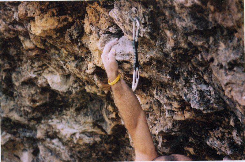 Rock Climbing Photo: The Softball.