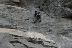 Rock Climbing Photo: Melon on Fetal Rearrangement.