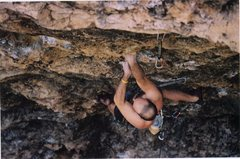 Rock Climbing Photo: Joe Mos styling the bottom on everyone's first Wil...