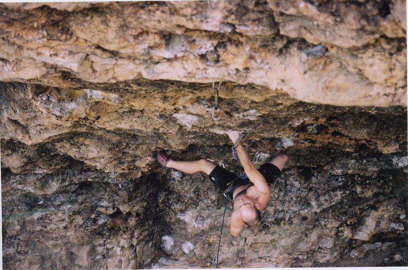 Rock Climbing Photo: Joe on Natural Selection.