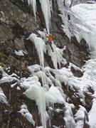 Rock Climbing Photo: Ryan Stefiuk on Instant Karma; Black Chasm, Catski...