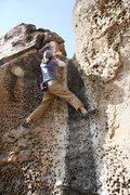 Rock Climbing Photo: Finishing Bourbon IV