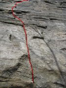 Rock Climbing Photo: Frog's Head. P1.