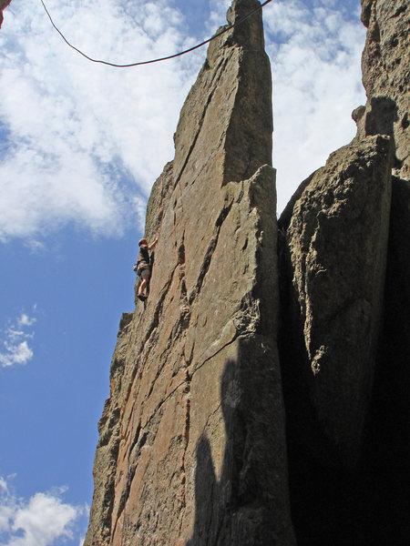 Rock Climbing Photo: Monastery.