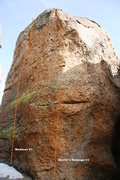 Rock Climbing Photo: North Face Topo