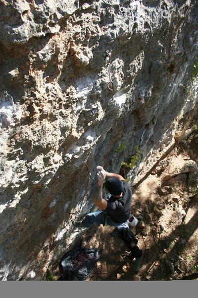 Rock Climbing Photo: fall