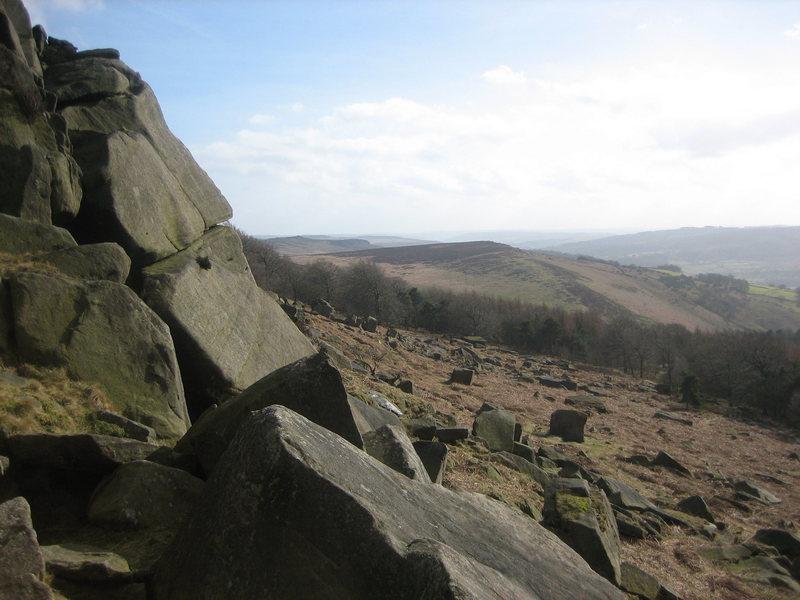 Rock Climbing Photo: Plantation boulders