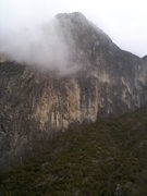 "Rock Climbing Photo: View of the Mota Wall from our deck at ""La Ca..."