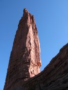 Rock Climbing Photo: Sundevil seen from the base of the titan on the ap...