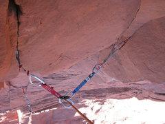 Rock Climbing Photo: Dicey!
