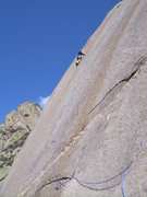 Rock Climbing Photo: Stu Ritchie enjoying the view!