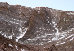 Rock Climbing Photo: The ever impressive N. Face of Mt. Meeker. 10/2008