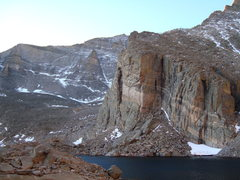 Rock Climbing Photo: Ships Prow in front of Mt. Meeker's NF. 10/2008