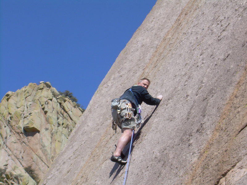 Rock Climbing Photo: Feeling lonely!