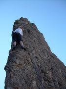 "Rock Climbing Photo: Kimberly Bailey on the ""Edge"""