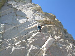 Rock Climbing Photo: Stu Ritchie on some very nice stone