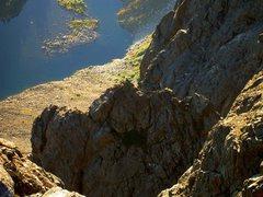 Rock Climbing Photo: Jesse and Drew on p. 9, the horizontal knife-edge ...