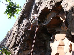 Rock Climbing Photo: Doug leaving the looseness after the stem start on...