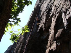 Rock Climbing Photo: Me on Cat Crack