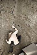 Rock Climbing Photo: caroline working zig zig. photo by seth hamel