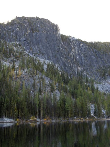 The elusive Toketie lake and Toketie wall.