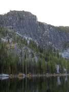 Rock Climbing Photo: The elusive Toketie lake and Toketie wall.