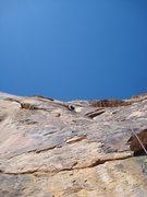 Rock Climbing Photo: Josh climbing p3