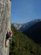 Rock Climbing Photo: nickels and dime in yosemite