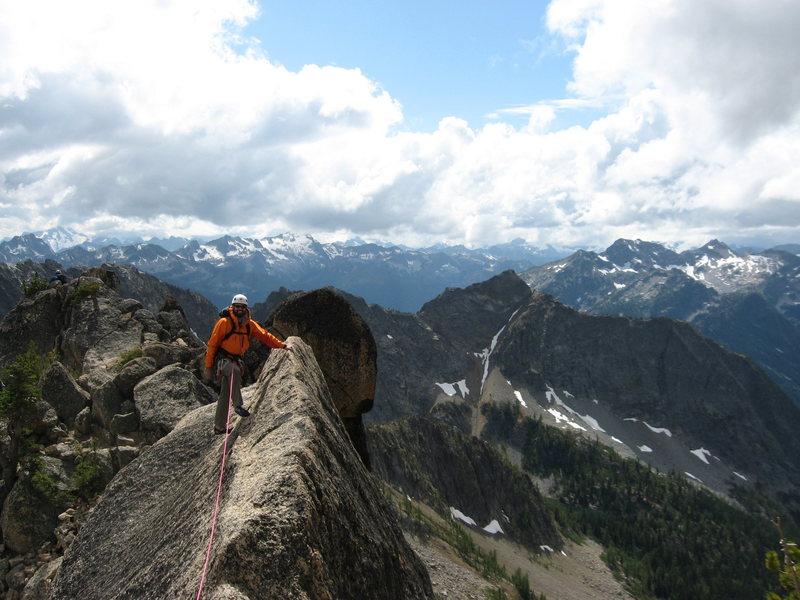 Rock Climbing Photo: Ridge Traverse