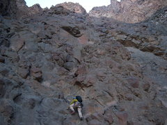 Rock Climbing Photo: This is the left side of the Black Bowl. We basica...