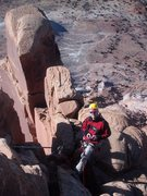 Rock Climbing Photo: Belay on S. Six
