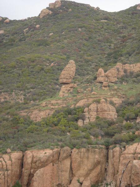 Balanced Rock.  Just one more earthquake...