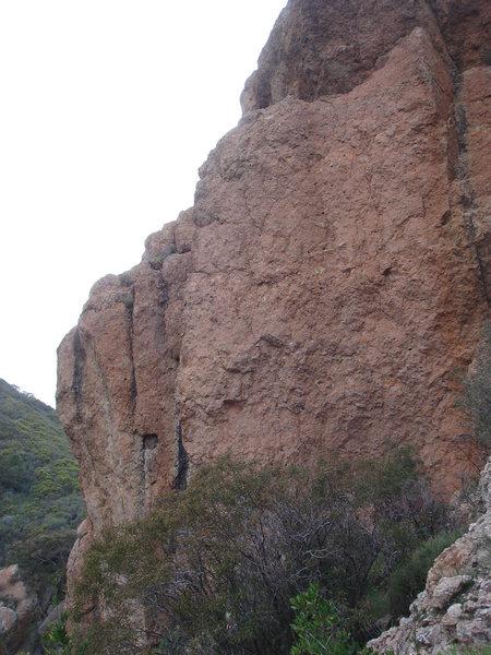 Rock Climbing Photo: Pink Wall