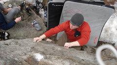 Rock Climbing Photo: Matt Wallace on Opie