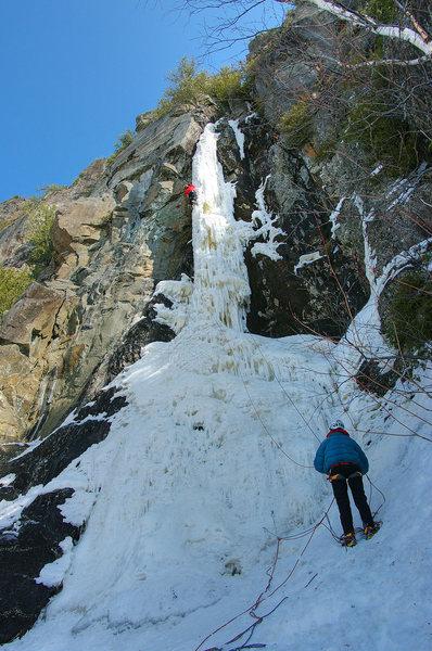 Rock Climbing Photo: Orient Bay, Ontario. Parallax as of 15 March '09. ...