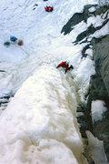 Rock Climbing Photo: Orient Bay, Ontario. Henning Boldt on Parallax. No...